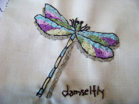 Finished dragonfly
